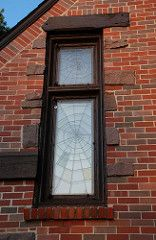 spider web windows by R. Harold Zook Leaded Glass, Mosaic Glass, Stained Glass, View Image, My Dream Home, Fall Decor, Sweet Home, Sun Shine, House Design