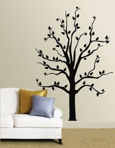 Black Tree Wall Decal at AllPosters.com