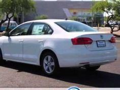 2013 Volkswagen Jetta, Lunde's Peoria Volkswagen- http://www.peoriavw.com/ you will love this CANDY WHITE 2013 Volkswagen Jetta, equipped with a 4 Cyl. engine  and a dual shift gearbox transmission with  only 10 miles. enjoy an exceptional 42 miles to the gallon on this great car with features like power driver and passenger seating, alloy wheel...