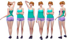 Sims 4 CC's - The Best: Poses by Rinvalee