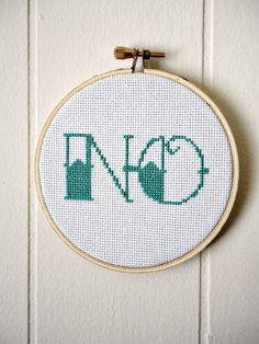 NO Cross Stitch