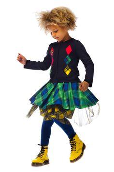Junior Gaultier fall winter 2014/2015 campaign from @jpgaultier. #backtoschool #juniorgaultier #fallwinter2014 #FW14 #children #kids #childrenwear #kidswear #kidsfashiontrends #girls #boys