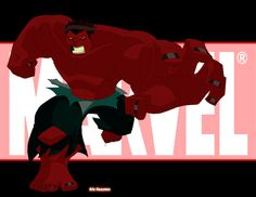 here is the red hulk. it's basically the same as the green hulk that i submitted only with a few modifications. i did the two to c which looked better, but i ended up liking both so i decided to po...