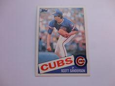 Scott Sanderson 1985 Topps Baseball Card