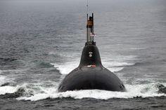 Indian navy submarine Chakra, ex-Russian submarine Nerpa.