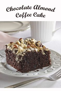 This sweet snack is perfect for Mother's Day brunch or dessert. The best of all flavours. Chocolate Treats, Chocolate Cake, Mothers Day Brunch, Dessert Recipes, Desserts, Baking Ideas, Coffee Break, Coffee Cake, Baked Goods