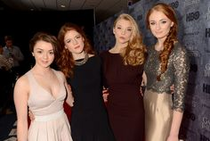 "Game of Thrones: Arya, Ygritte, Margaery, Sansa - At HBO's ""Game Of Thrones"" Season 3 Seattle Premiere"