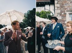 A 1920s Jazz Age, Prohibition and Charleston Inspired Vintage Wedding