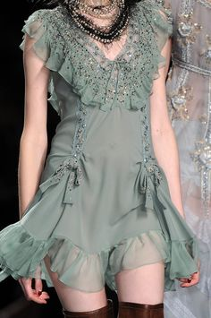 John Galliano for Christian Dior Fall Winter 2010 Ready-To-Wear