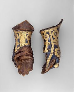 The Metropolitan Museum of Art - Pair of Gauntlets Belonging to the Armor of Duke Friedrich Ulrich of Brunswick (1591–1634)