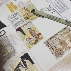 名古屋ボストン美術館行ってきました。「浮世絵名品展 鈴木春信」 今描いてる。日本の美術館は写真撮れないからね〜。 #KAORItoJAPAN2017WINTER #nagoya #japan