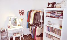 como montar closet sem gastar