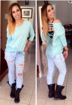 Spring, 2014, fashion, colour, mint, ombre, hair, teen, clothes
