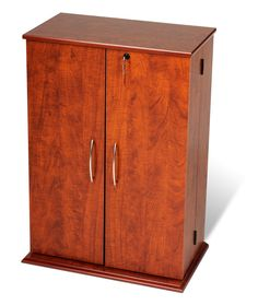 Cherry Black Locking Media Storage Cabinet Whole Furniture Brokers Home Entertainment