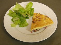 Frittata with Ham and Parmesan