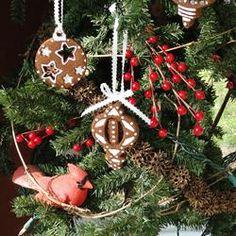 Non-Edible Cinnamon Ornaments  (These smell wonderful)!