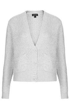 Fluffy Oversized Cardigan - Knitwear - Clothing