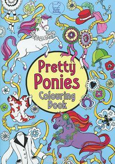 Pretty Ponies Colouring Book