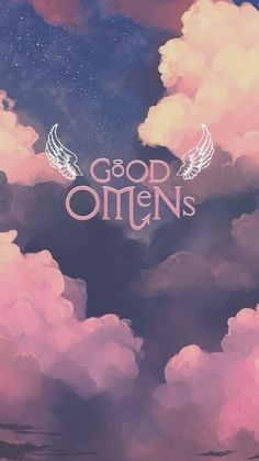 a wallpaper for all good omens fans looking for a little color! (creds to artist of base, i just placed the pngs lmao) Lock Screen Wallpaper, Cool Wallpaper, Iphone Wallpaper, Good Omens Book, Best Couple, Phone Backgrounds, Cute Wallpapers, Movies And Tv Shows, Aesthetic Wallpapers