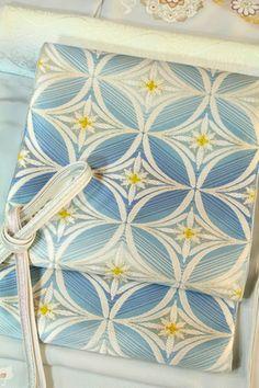 博多織の「西村織物」 「四君子 蘭花文」佐賀錦袋帯