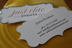 business cards for events planner - Google Search