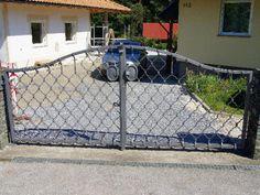Kärntnermaschen Tor Patio, Steel, Outdoor Decor, Pictures, Steel Grades, Terrace, Iron