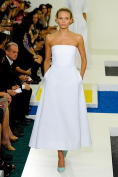 Jil Sander SP2012 - Wedding dress