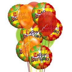 Happy, Happy Birthday delight from 1-800-Balloons.com