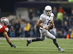 Quarterback Marcus Mariota #8 of the Oregon Ducks runs the ball against the Ohio State Buckeyes during the College Football Playoff National Championship Game at AT&T Stadium on January 12, 2015 in Arlington, Texas. (Jan. 11, 2015 - Source: Tom Pennington/Getty Images North America)