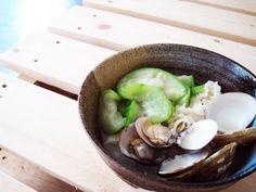 20130916_蛤蜊絲瓜湯麵.