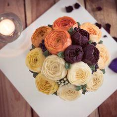 작약 flowercake_1호 사이즈 블라썸 스타일 #플라워케이크 #당근케이크 #주문케이크#먹스타그램 #꽃스타그램 #케이크 #꽃 #돌 #백일 #버터크림케이크 #프로포즈 #분당 #프로포즈 #판교 #홈베이킹 #베이킹#디저트 #flowercake #cake #flower #baking #dessert #buttercreamcake