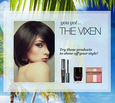 My Beauty Style today is Vixen! I just took the ULTA Quiz for the chance to WIN a Maui vacation.