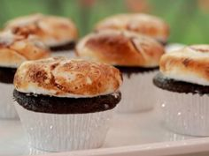 As seen on Southern at Heart: Damaris' Chocolate Cupcakes with Burnt Orange Marshmallows.