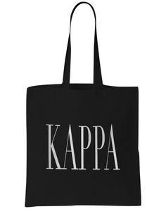 Kappa Kappa Gamma Simple Tote Adam Block Design