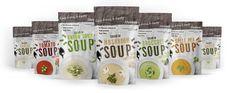 soup(leves) design tervezés Pea Soup, Stuffed Mushrooms, Tasty, Stuff Mushrooms, Chickpea Soup