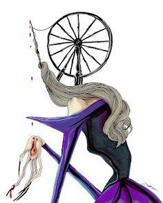 #fashion #illustration #websista #halloween #achrafamiri