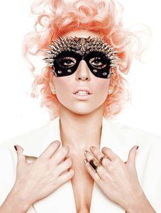 Lady Gaga's fashion mask