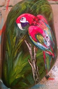 """PARROT IN THE FOREST"""