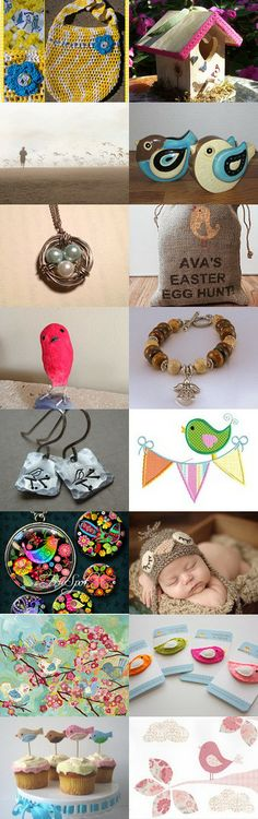 I Spy with my Little Eye ... A BIRD! by Erinn LaMattery on Etsy--Pinned with TreasuryPin.com