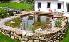 Fahrers Gärten und Schwimmteiche