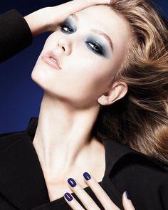 Image via We Heart It #fashion #girl #KarlieKloss #makeup #model