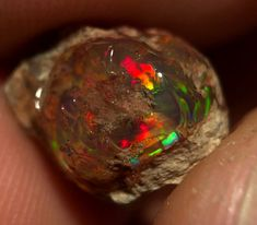 Jewelry making Boulder Opals Rare Mexican Fire Opal Cabochon Mexican Opals in Natural Matrix stone Craft and Supply Tools