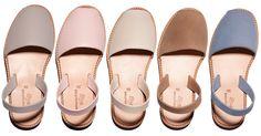 Sandales femme claires : les avarcas Minorquines