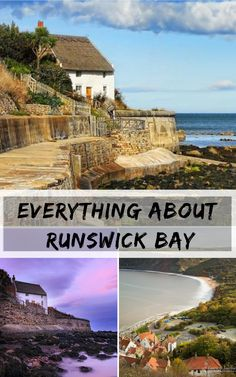 Runswick Bay is undoubtedly one of the Yorkshire Coast's most scenic destinations, with its picturesque bay and red-roofed fishing cottages nestled against the surrounding cliffs. European Destination, European Travel, Europe Travel Tips, Travel Destinations, Travel Goals, Travel Packing, Best Places To Travel, Cool Places To Visit, Travel Inspiration