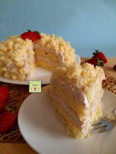 torta mimosa alla fragola gp