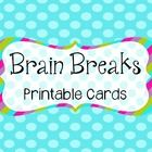 This product features 28 creative and fun brain breaks, specifically designed for elementary students!  They were designed in black and white so yo...