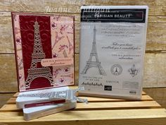 Card showcasing the new Parisian Beauty stamp set and Parisian Blossoms Designer Series Paper from my presentation at OnStage 2019 in Hartford, CT. Created by Joanne Mulligan, Independent Stampin' Up! Paris Cards, Wink Of Stella, Handmade Headbands, Handmade Gifts, Making Greeting Cards, Tampons, Sympathy Cards, Homemade Cards, Stampin Up Cards