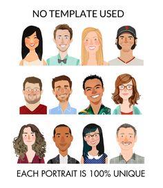 Schauen Sie sich die Beispiele meiner Portraits bei Pinterest! http://www.pinterest.com/studioklamoty/Custom-Illustration/  BITTE LESEN SIE • • • • • • • • • • • • • • • CAREFULLY••• • • • • • • • • • • • • Dieses Angebot gilt für druckbare digitale Datei benutzerdefinierte Porträt. Kein physisches Objekt wird ausgeliefert!  •••••• •••••• •••••• •••••• •••••• PRICING:•••••• •••••• •••••• •••••• •••••• In einem Pulldown-Menü. Wenn Ihre gewünschte Gruppe nicht angezeig...