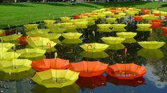 Umbrellas Artwork - Luke Jerram