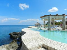 The pool at The Spa Retreat.  Negril.  #pureheaven #relaxation #CruisePlanners